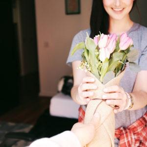 Voor haar