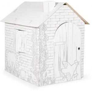 kartonnen huis