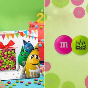 M&M'S met foto