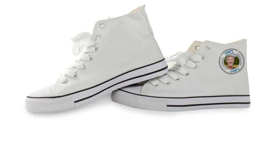 Schoenen ontwerpen met eigen naam