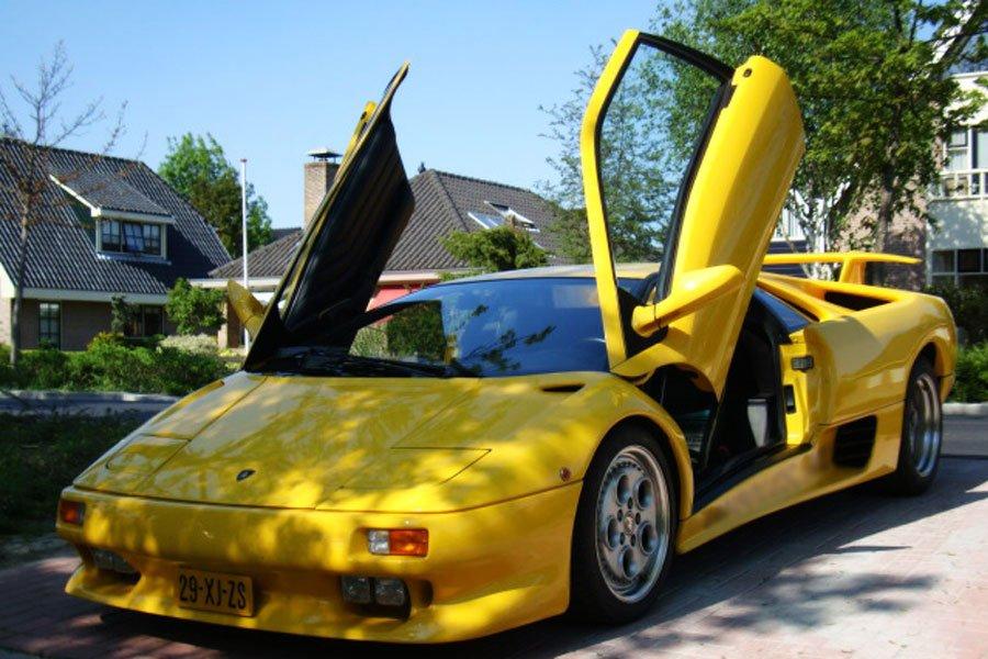 Zelf Met Een Lamborghini Rijden