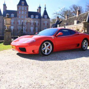 Zelf met een Ferrari rijden